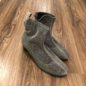 Zara Sparkle Sock Boot